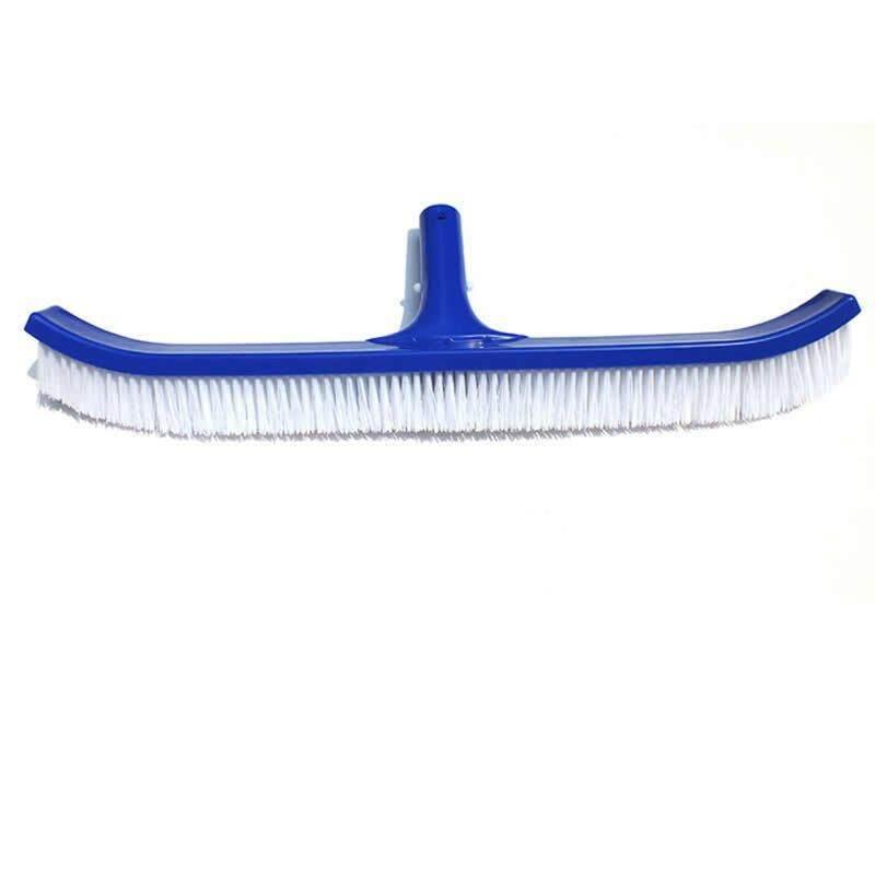 Befu 18inch Swimming Pool Spa Algae Plastic Brush Duty Broom Cleaner Curved Tools