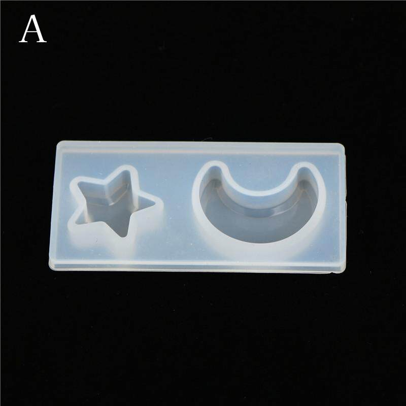 Resin Jewelry Mold Diy Silicone Crystal Cat Face Cats Claw Moon Stars Heart A By Blowing Snow.