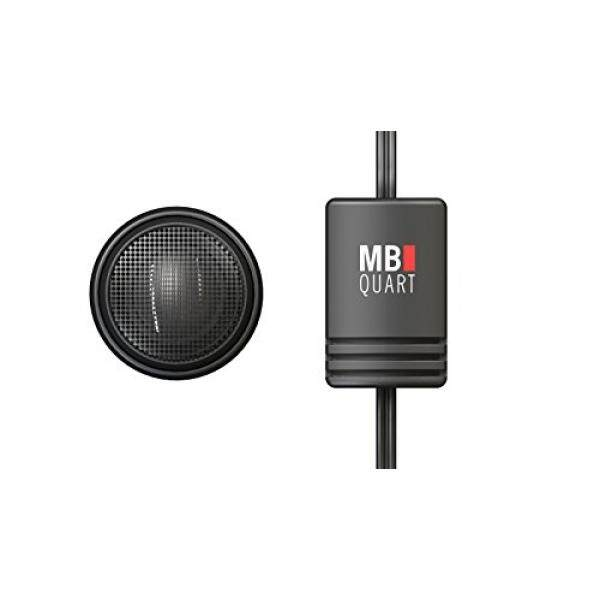 MB Quart DT1-25 Discus Tweeters with Crossover, 1-Inch, Set of