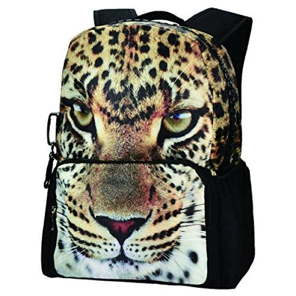 Laptop & Tablet Bag Travel Gear Leopard Backpack, Bistar Galaxy Leopard Teenager Backpack 3D Animal Bags Girls School Rucksack BBP101 - intl