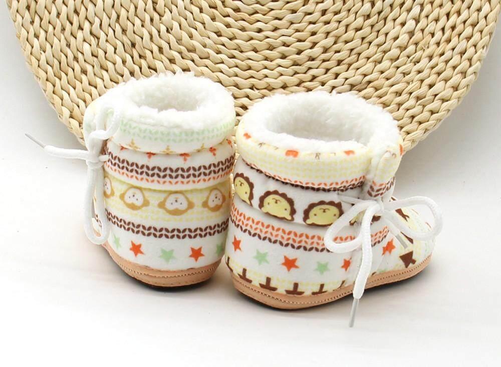 Cocol Max Balita Bayi Baru Lahir Sepatu Boot Motif Sol Lembut Bot Bayi Sepatu Hangat By Cocolmax