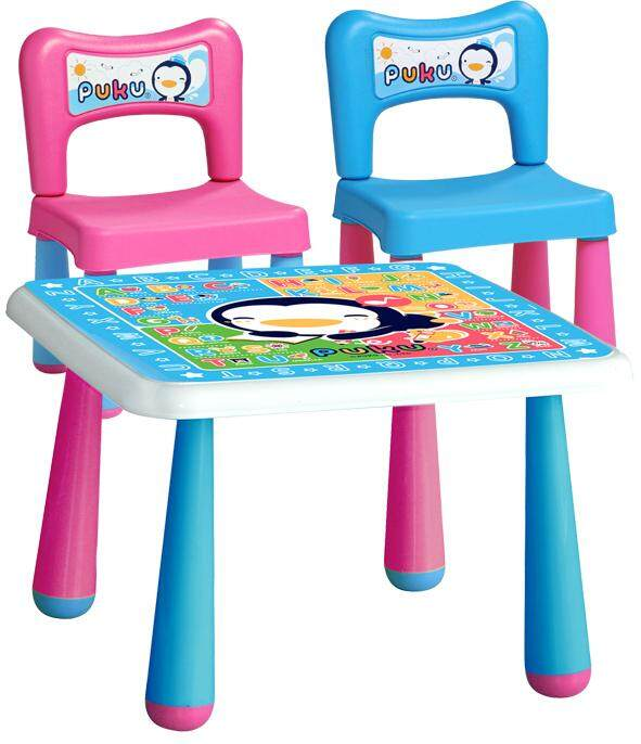 Puku Baby Table & Chair 1+2