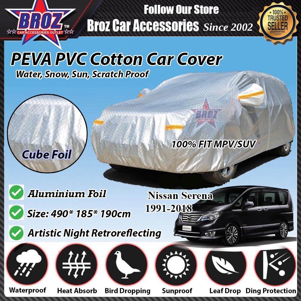 Serena Car Body Cover PEVA PVC Cotton Aluminium Foil Double Layers - MPV 2