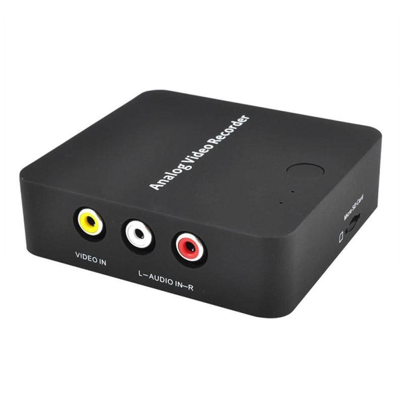 niceEshop Stand-Alone S-Video/Analog RCA Video Capture/Recorder Box to MicroSD Card - Convert Old VHS Video Tape To Digital Format With Just One-Button - intl Singapore