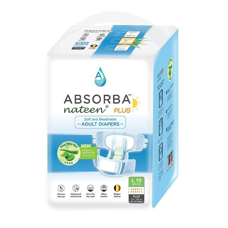 Absorba Nateen Plus L 10's