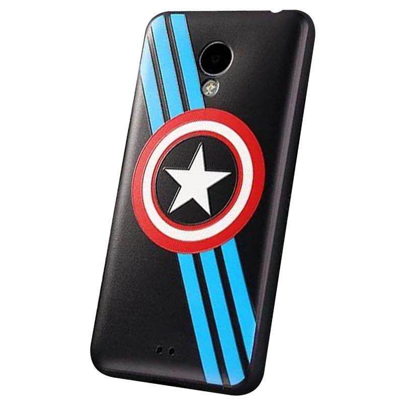 The wheat road cartoon Huo gum the soft set of cellular phone hull protection set outer shell is applicable to an evil spirit clan evil spirit blue 3/3 ...
