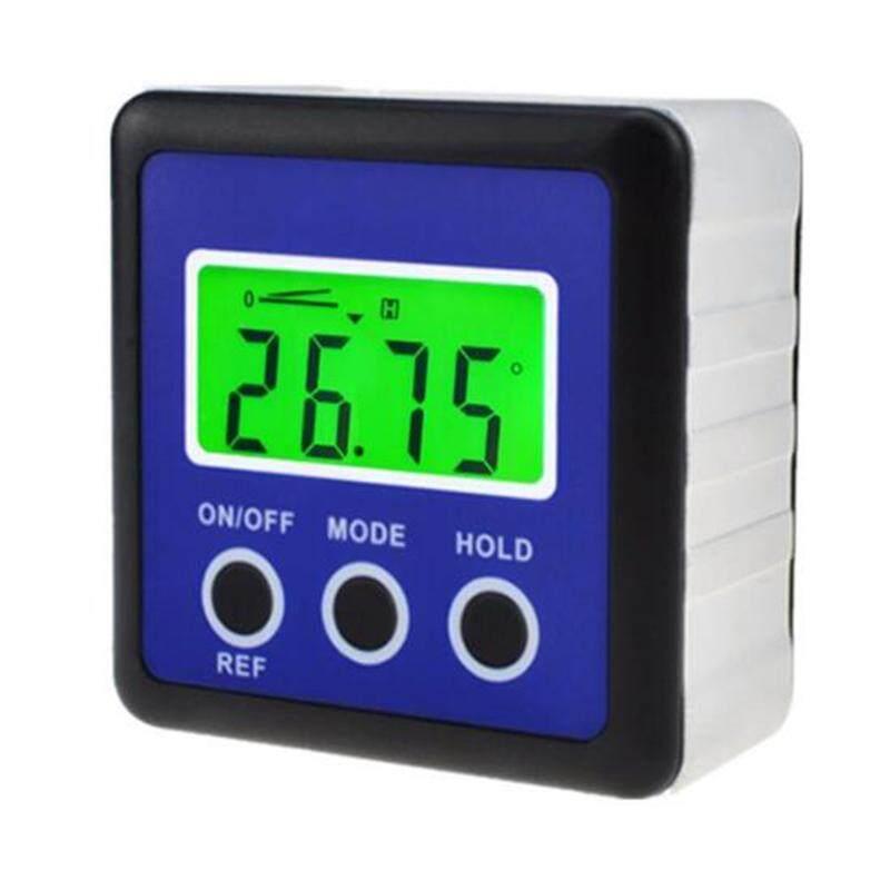 Hình ảnh 3 Key Mini Digital Inclinometer Tilt Box Protractor Angle Meter Level Gauge Angle Gauge Slope Level - intl
