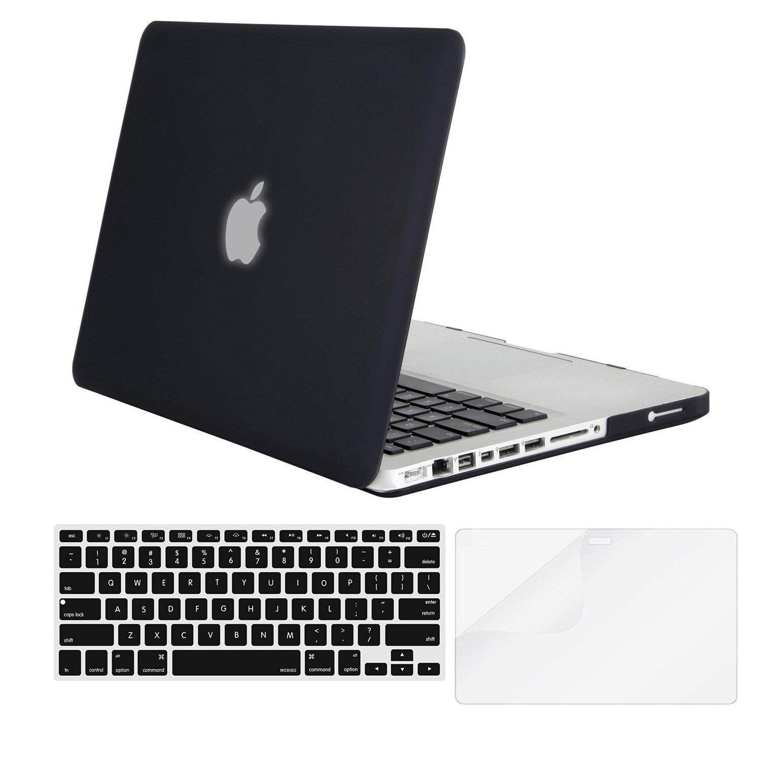 Macbook Case Plastic Hard Shell Case With Keyboard Cover With Screen Protector Only Compatible Old Macbook Pro 13 Inch (a1278, With Cd-Rom), Release Early 2012/2011/2010/2009/2008.