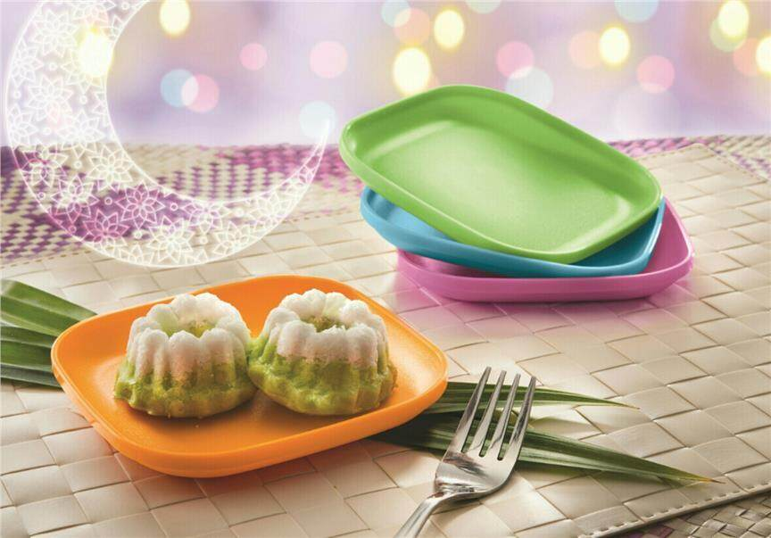Tupperware Snack Plate (4)