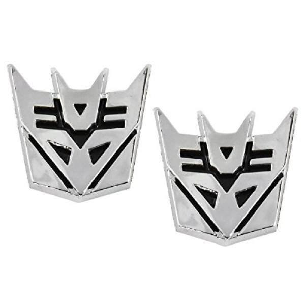 ... Sohoku Emblem Stiker 3d Transformer Decepticon Silver Daftar Harga Source Transformer Decepticon Chrome Finish Pair Car