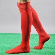 Men Sport Football Soccer Long Socks Over Knee High Sock Baseball Hockey - intl