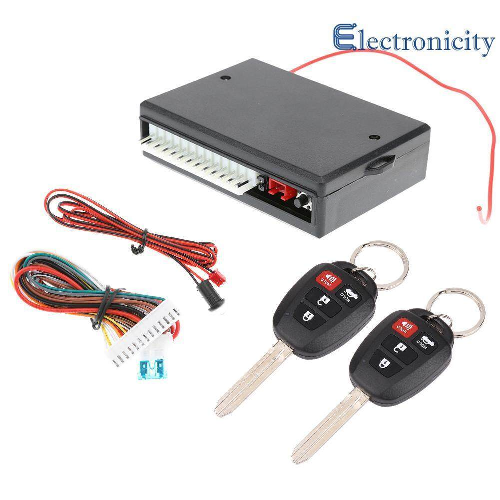 New Car Keyless Entry System Remote Control Alarm Central Locking Kit VH13P - intl