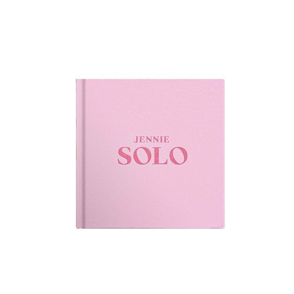 [YG] JENNIE (BLACKPINK) [SOLO] Single Album + 1 double side folded poster + Store gift photocard - kpop