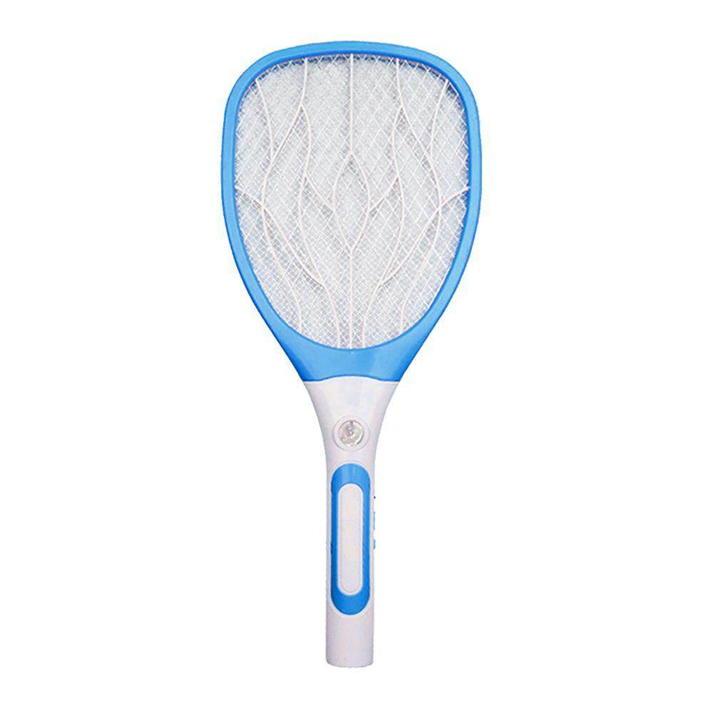 KACOO Mosquito Fly Killer Swatter And Bug Zapper Racket, KACOO USB Charge 3 Layers Safety Mesh Super Bright LED Light Built In Rechargeable Batteries - 2500 Volt