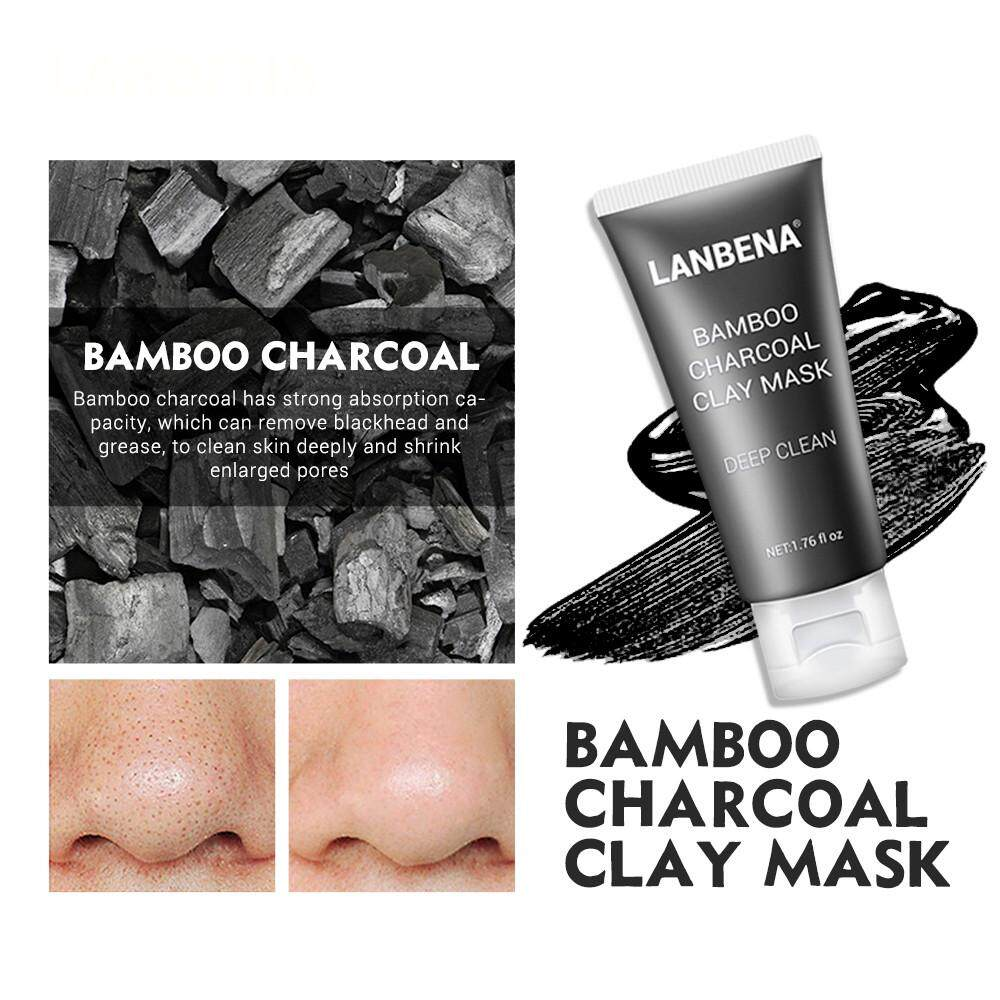 Lion 1PC Lackhead Remover Black Mud Deep Cleansing Purifying Peel Acne Face Mask
