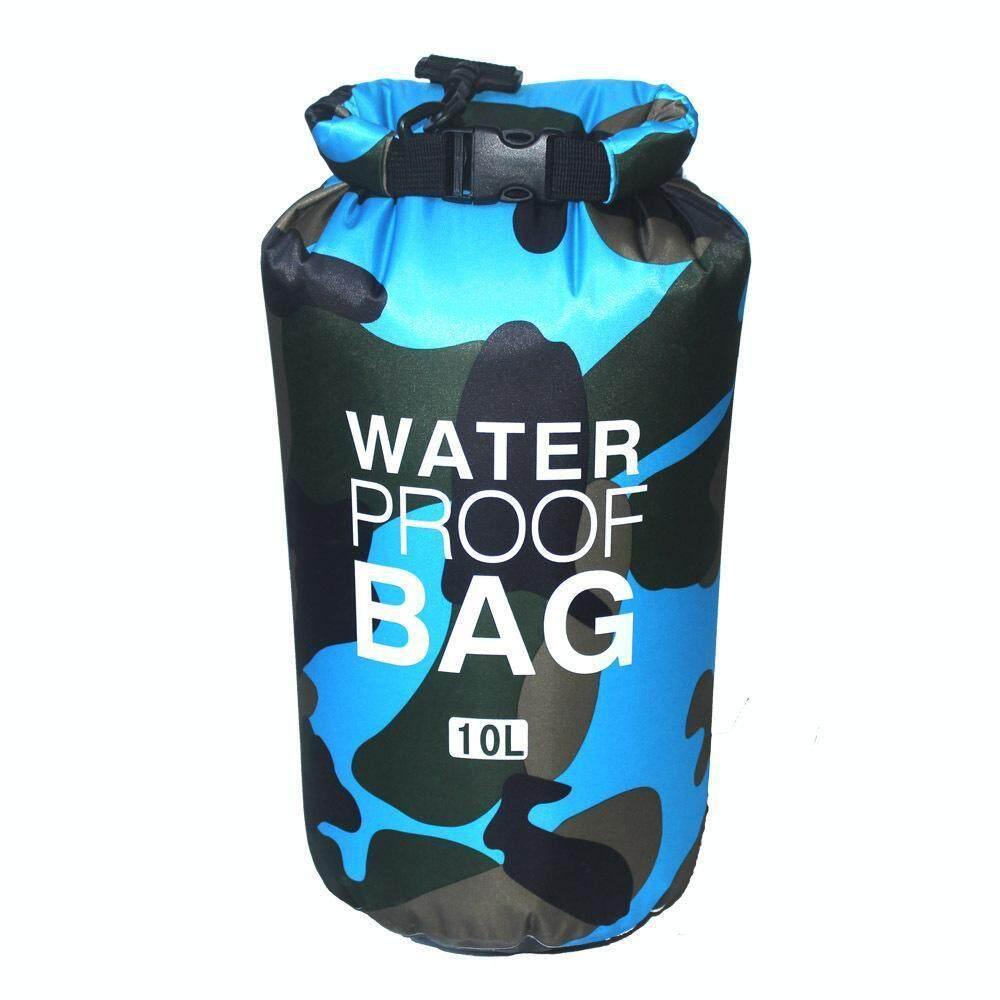 Dry Bag 10L (Camo) Waterproof for Scuba Diving