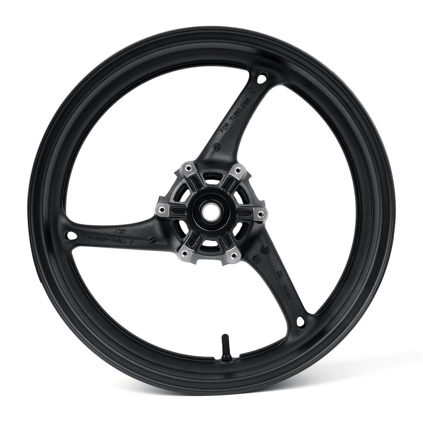 27cm 10-inch Fit for Yamaha PY50 /& PW50 Motorcycle Gazechimp Front Rim Wheel Replacement Part Black