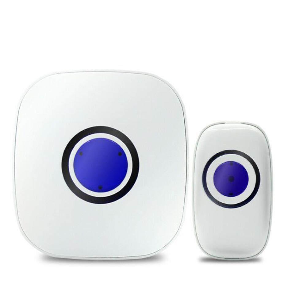 Smart Wireless Door Bell Intelligent Waterproof Doorbell with 38 Ringtones (EU Plug US Plug) - intl