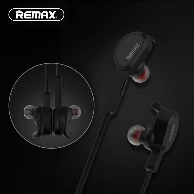 Remax Bluetooth Olahraga Earphone Dalam Telinga Nirkabel Magnetik Headset Remote Lari In-Ear Ponsel dengan