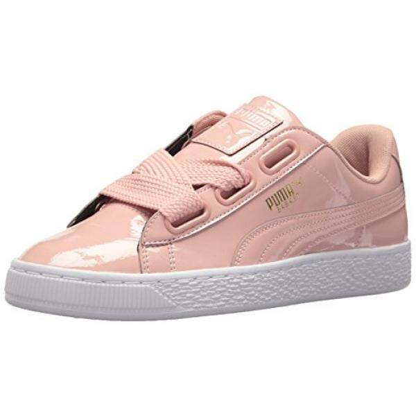 ee5c4f669f48 Singapore. PUMA Womens Basket Heart Patent Wn Sneaker