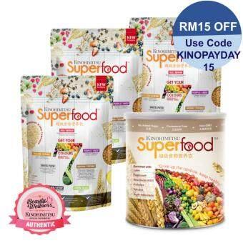 Kinohimitsu Superfood Refill 500g x3 + Superfood 500g x1