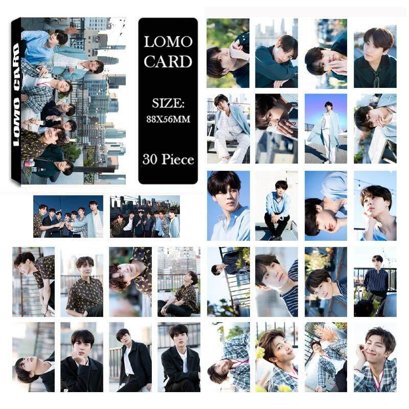 Album LOMO Cards K POP New Fashion Self Made Paper Photo Card HD .