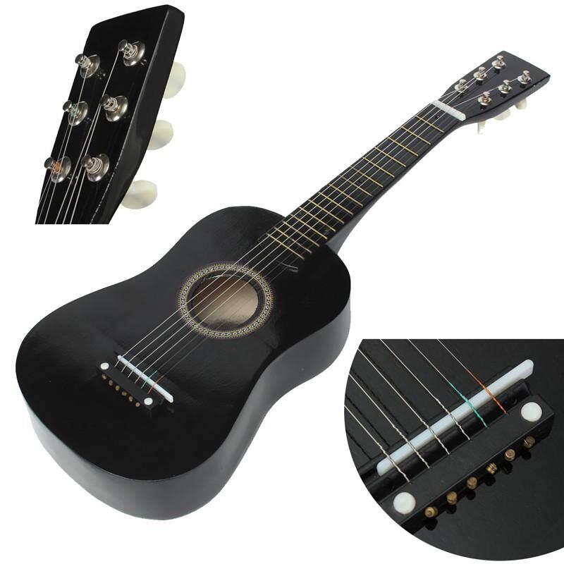 Coupon Giảm Giá Hot New Người Mới Bắt Đầu Đen Bồ Đề Acoustic Với Đàn Guitar Chọn Dây Dây