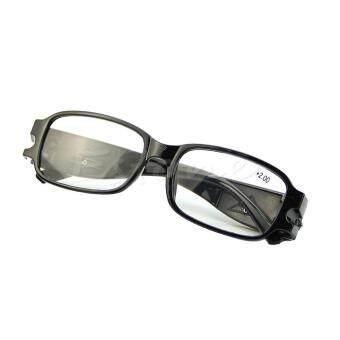 Bandingkan Toko Multi Kekuatan Membaca Modus Malam Kacamata Presbyopia Diopter Kacamata LED-Internasional sale -