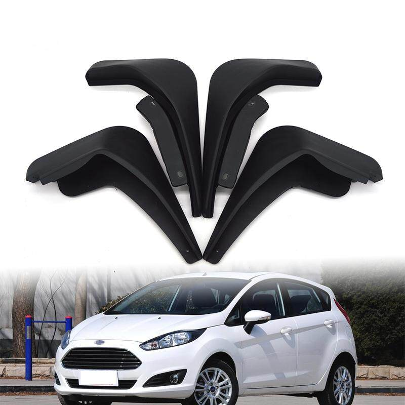 Pl For Ford Fiesta 09-16 Molded Mud Flaps Mudflaps Splash Guards Front Rear Mudguard By Purple111.