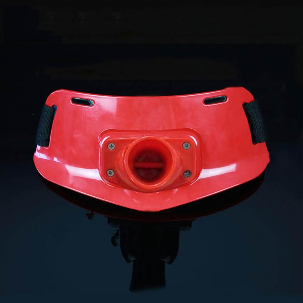 Tongkat Pancing Top Joran Perlawanan Sengit Sabuk Portable 3.5 Cm ABS Peralatan Pancing Persediaan Merah