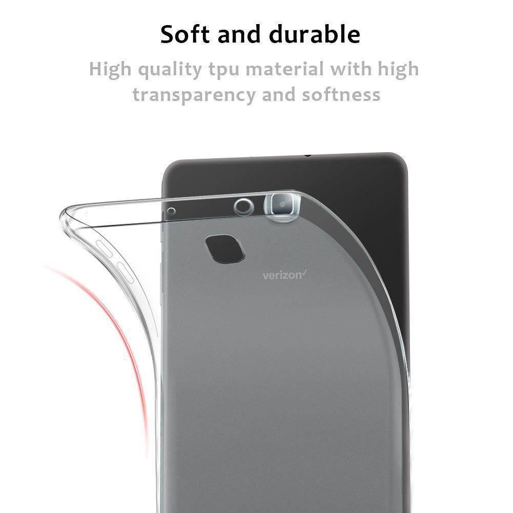 DWaybox Ready Stock TPU Soft Clear Case For Samsung Galaxy Tab A 8.0 (2018)