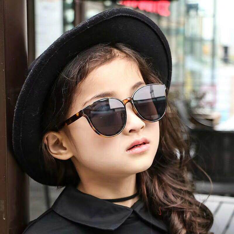 87b9af9a18 New Children s Sunglasses Korean Style Fashion Vintage Glasses UV Protect  Metal Mirror