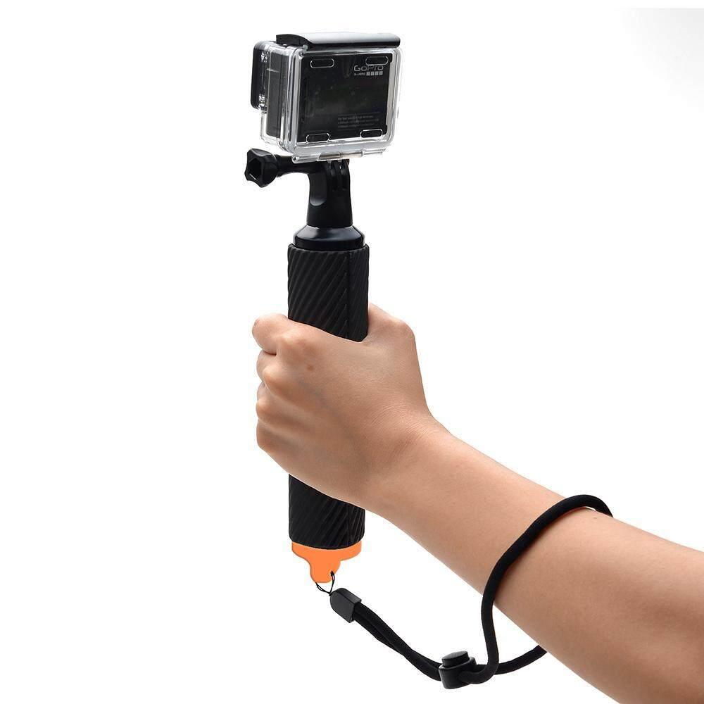 OEM Anti-Air Mengapung Pegangan Handler Pegangan, Terapung Yang Dapat Monopod Handheld Kamera Selfie Tongkat untuk Kamera Aksi, goPro Hero4 Sesi/Hero4/3 +/3/2/1-Internasional