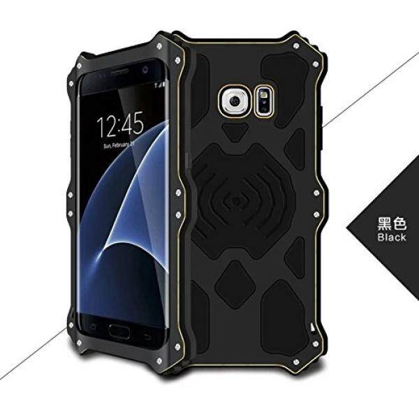 Cell Phones Cases Love Mei MK2 Galaxy S7 Edge Case,OPDENK Metal Bumper Armor Aluminum Shockproof Military Heavy Duty Protector Cover Case for Samsung Galaxy S7 Edge G9350 (Black) - intl