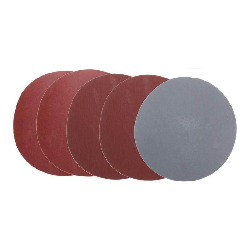 25 ชิ้น 5 นิ้วแผ่นขัดกลมกระดาษทรายของเครื่องขัดทราย 800/1000/1500/2000/3000 Grit - Intl.
