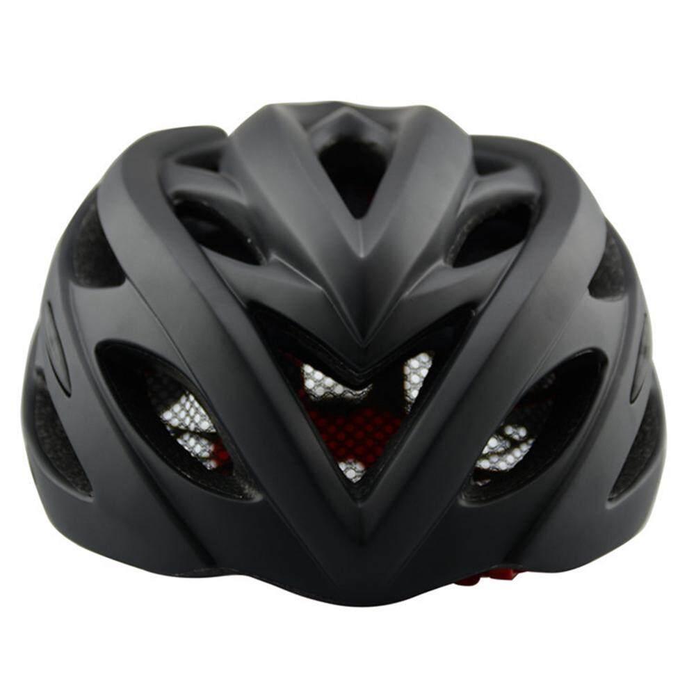 Xe Frosted Helm Sepeda dengan Lampu Sepeda Jalanan Pelindung Topi Aksesori Sepeda Gunung - 4