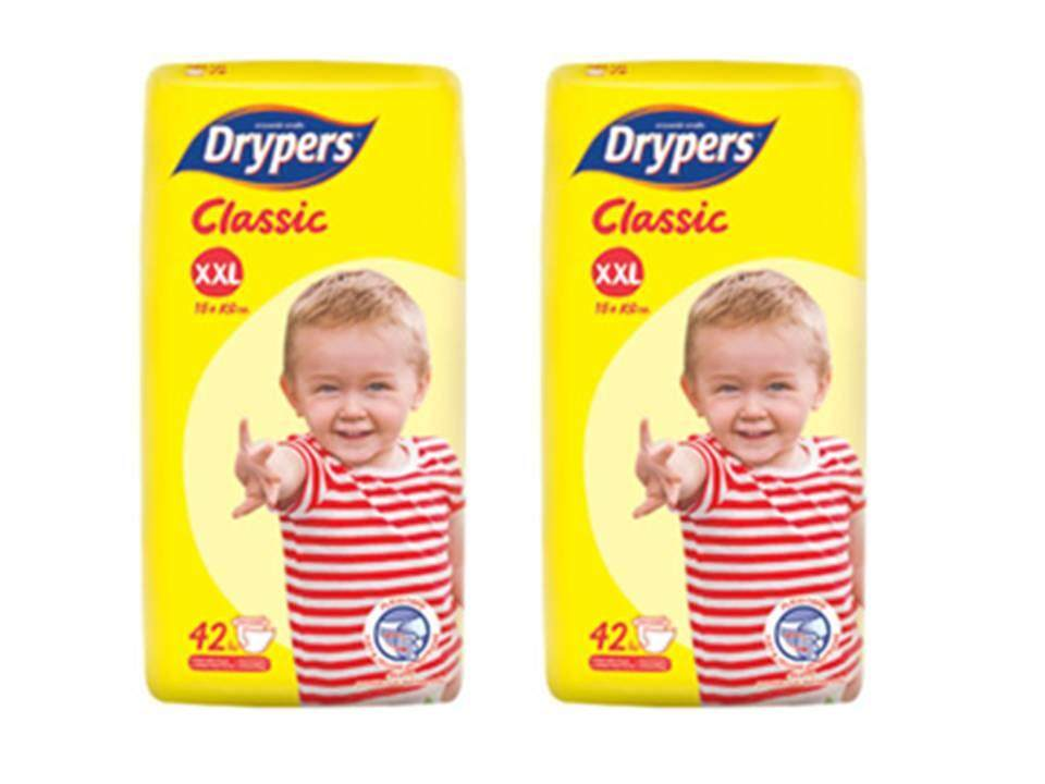 DRYPERS CLASSIC MEGA TWIN PACK SIZE XXL42