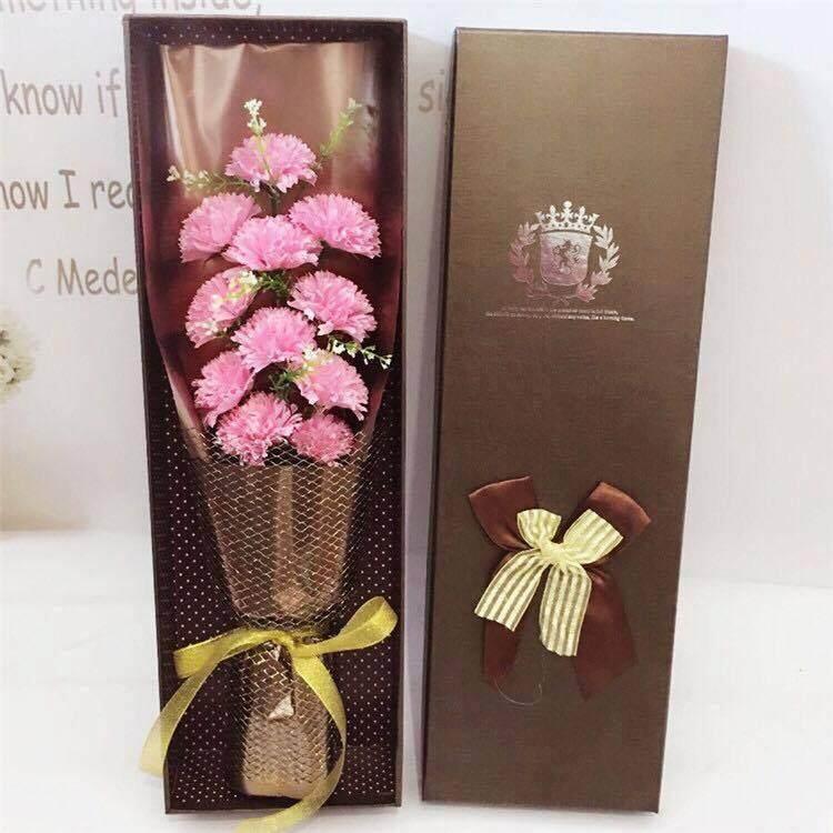 11 Carnation Bouquet Gift Box