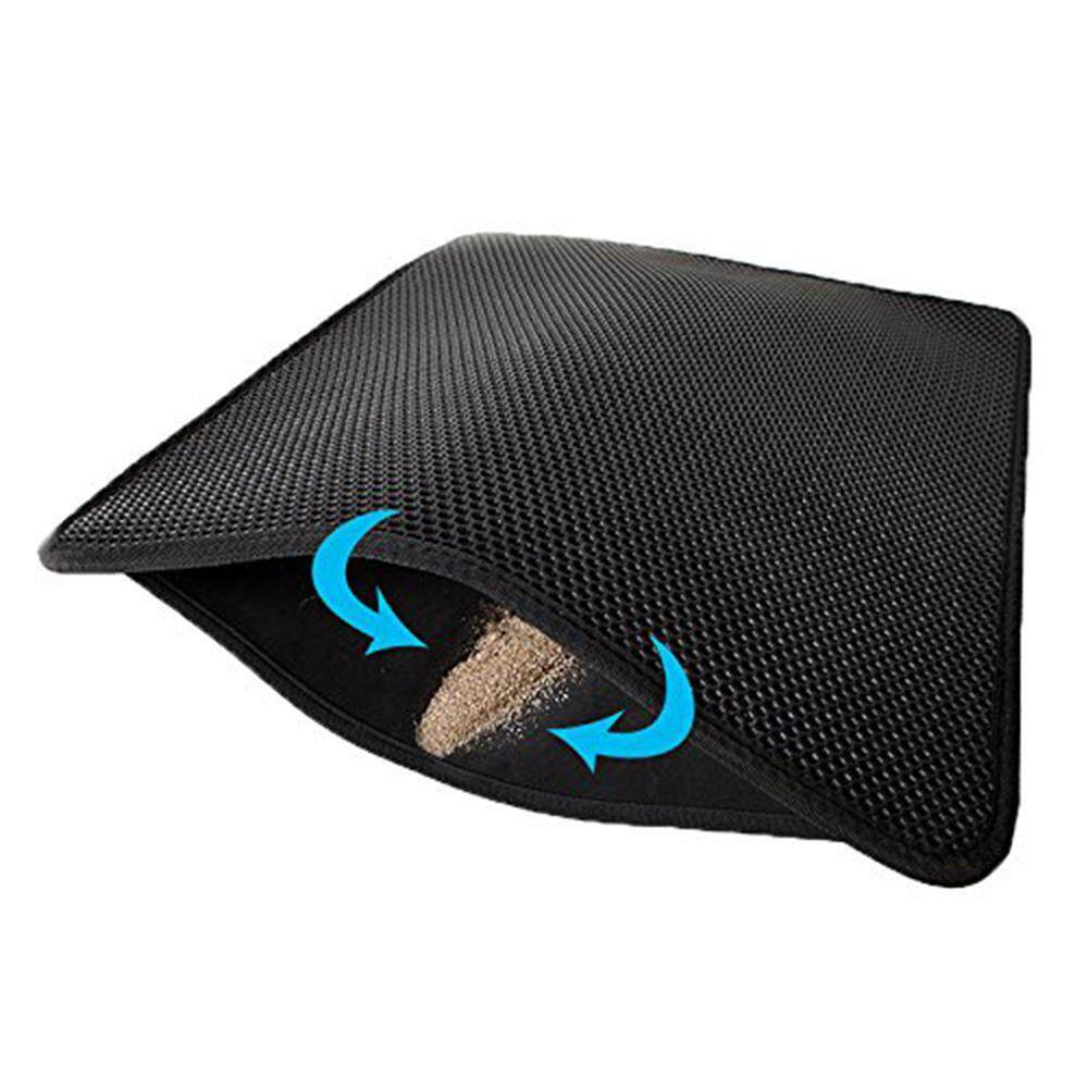 Kobwa [s] Anti-Dirty Slip Cat Sand Mat - Intl By Kobwa Direct.