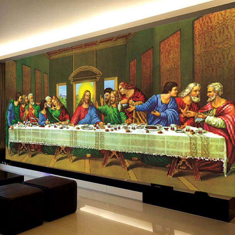The Last Supper 5D Diamond DIY Painting Craft Home Decor 100*55cm - intl