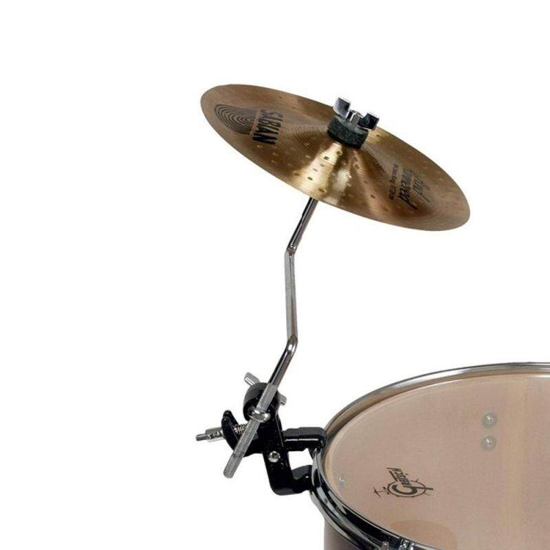 MoonEmbassy Cymbal Arm Holder Drum Set Jaw Cymbal Mount Percussion Accessories