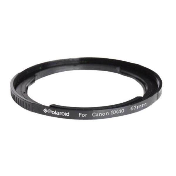 Polaroid 67mm Lens And Filter Adapter Ring For The Canon SX50, SX40, SX30 Digital Camera