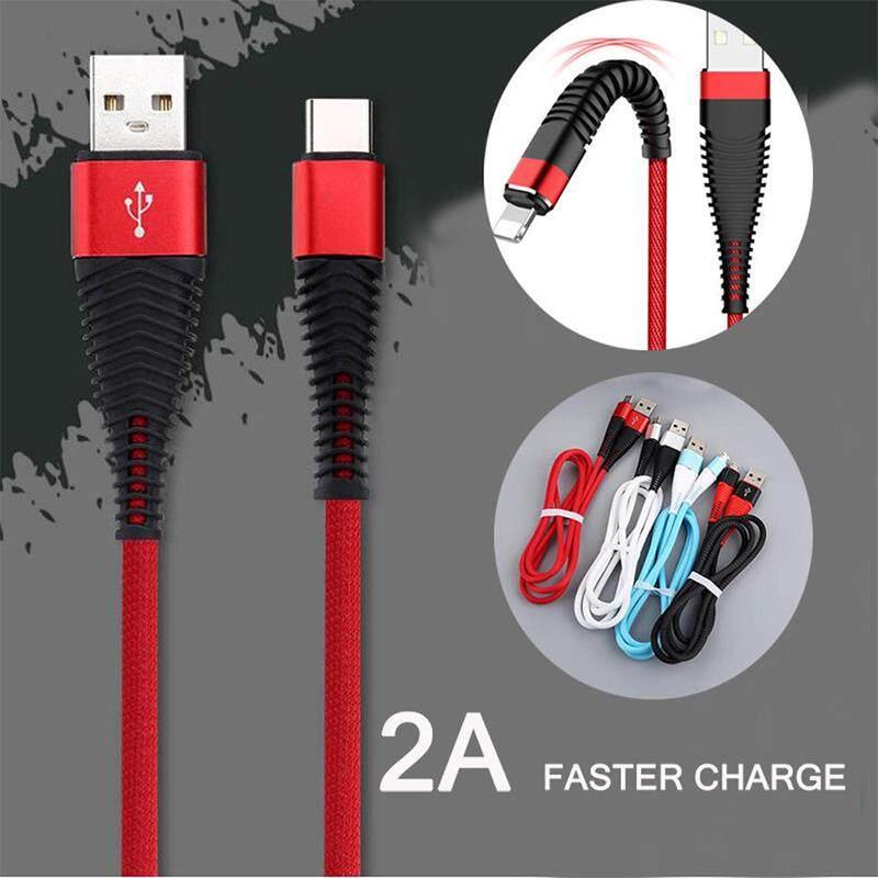 Xe Rajutan Kabel Pengisi Daya Lightning Charger USB Kabel Data Isi Ulang Sinkronisasi Kabel untuk iPhone 8 7 6 S 6 5 X