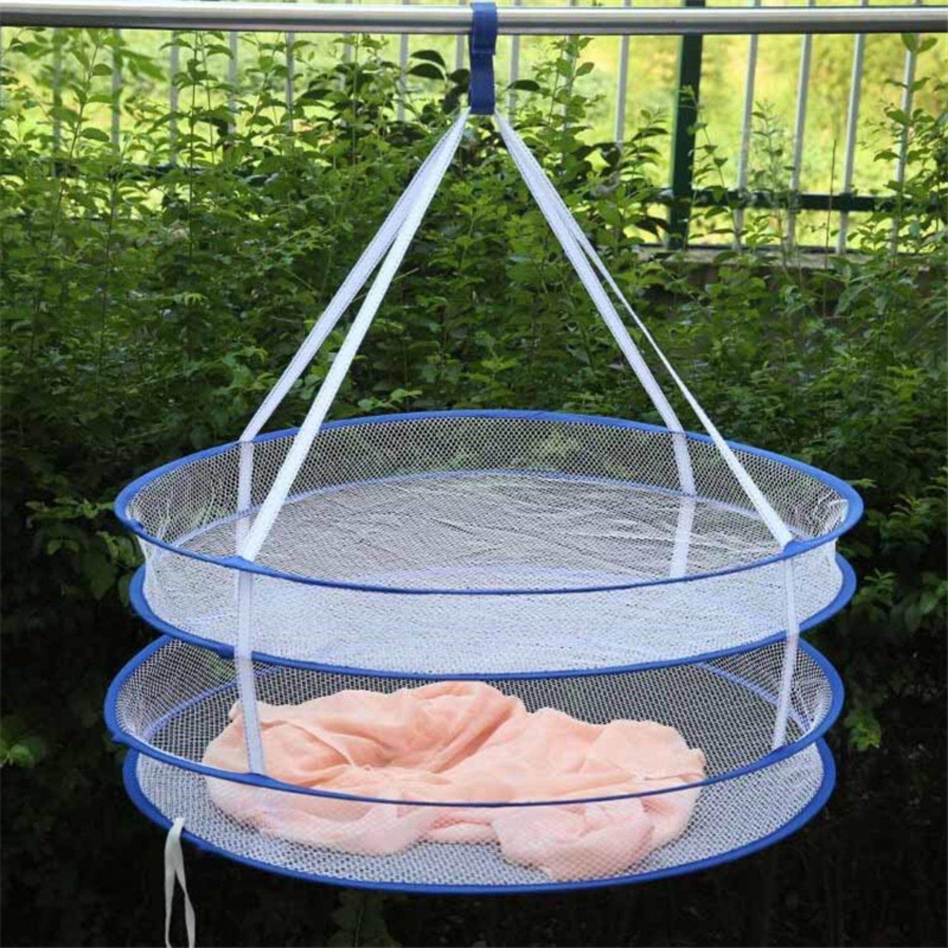 Vegoo Foldable 2layers Drying Rack Net Hanging Clothes Laundry Sweater Dryer Basket By Vegoo.