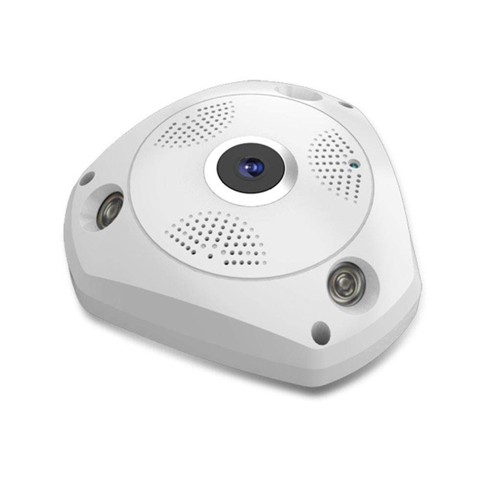 360 degree VR 3D wireless wifi high-definition network camera wide-angle fish eye indoor surveillance panoramic camera