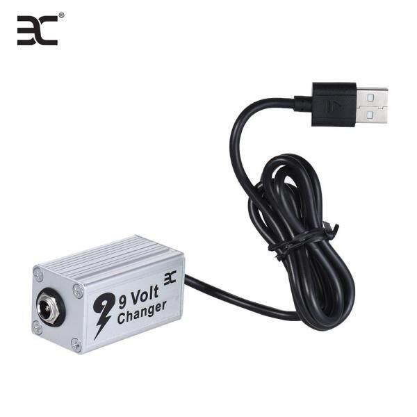 【Hot Sale】Eno EVC-1 Phơ Đàn Ghita Điện Áp Nguồn Điện Chuyển Đổi USB Booster 5V Để 9V Sử Dụng Với Sạc Dự Phòng Như Bộ Chuyển Đổi Tăng Áp Cho 9V Phơ Đàn Ghita S