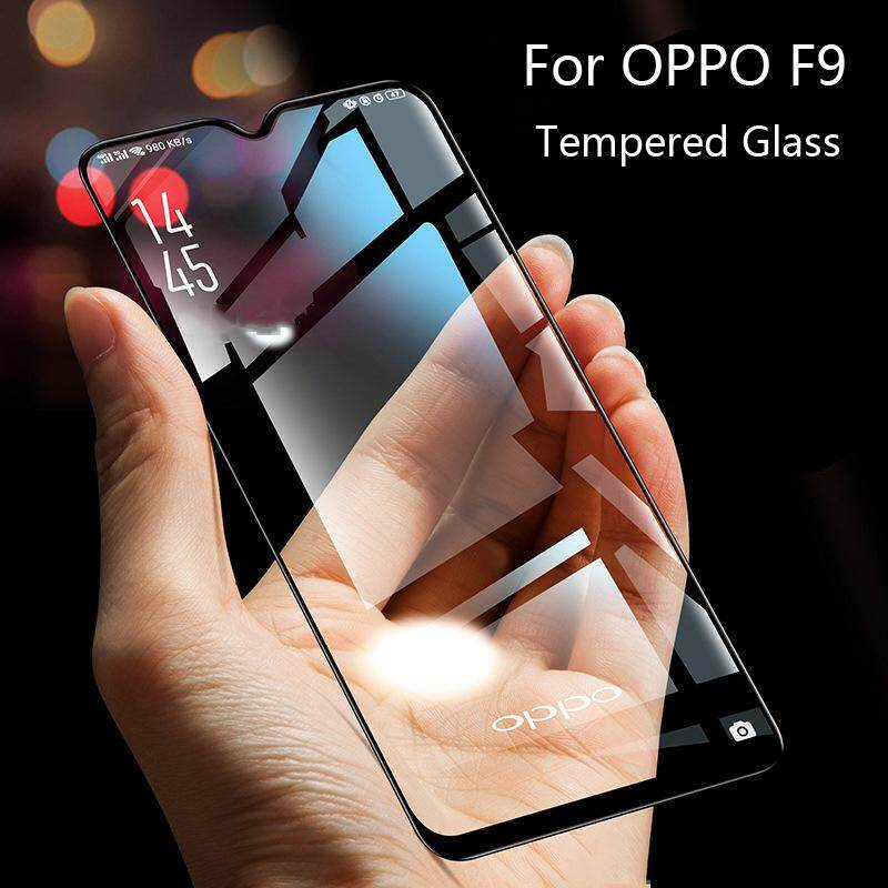 Tempered Glass 9H 2.5D Full Screen Coverage Protector  For OPPO F9