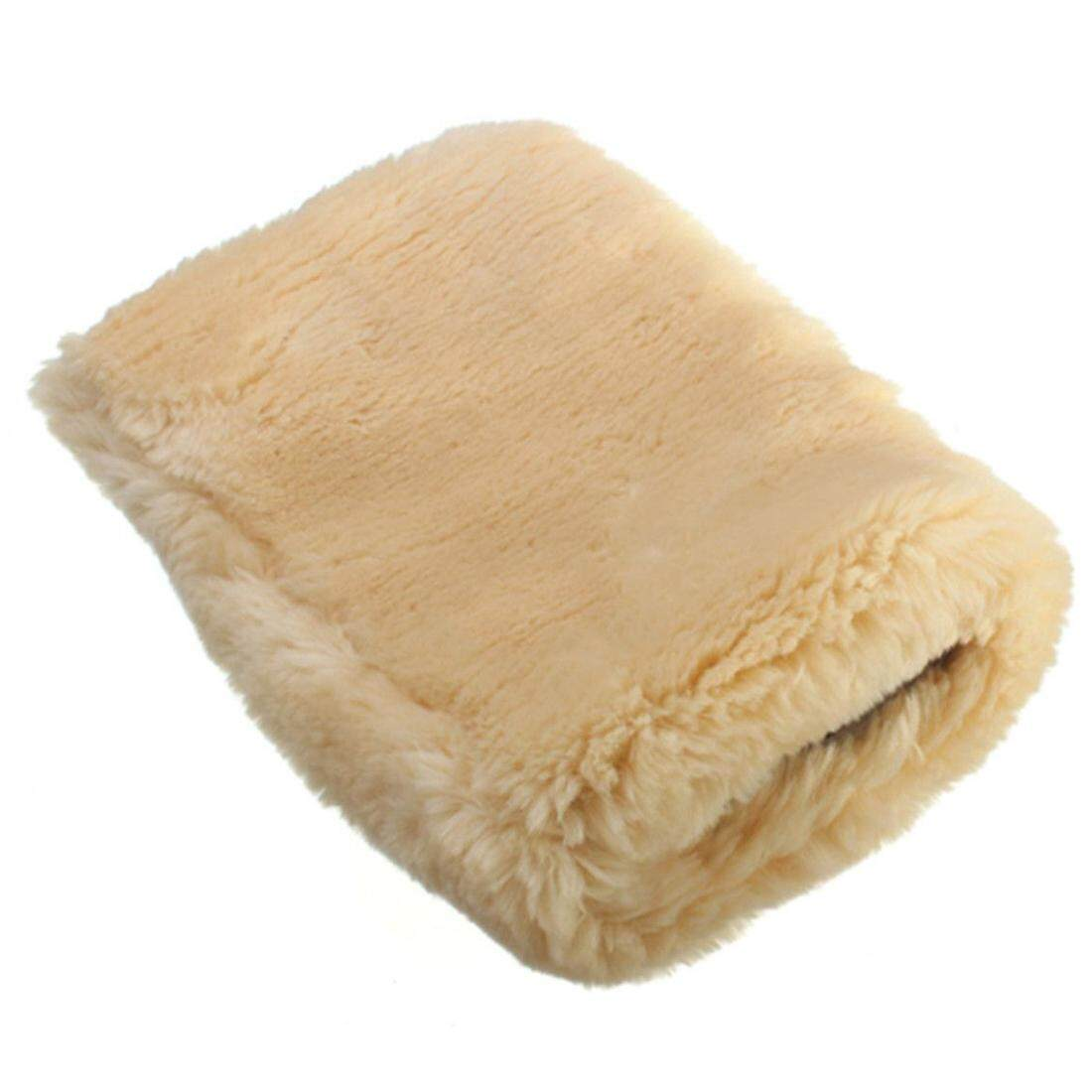 Lambswool Sheepskin Polishing Mitts Buffing Car Cleaning Wash Glove By Yomichew.