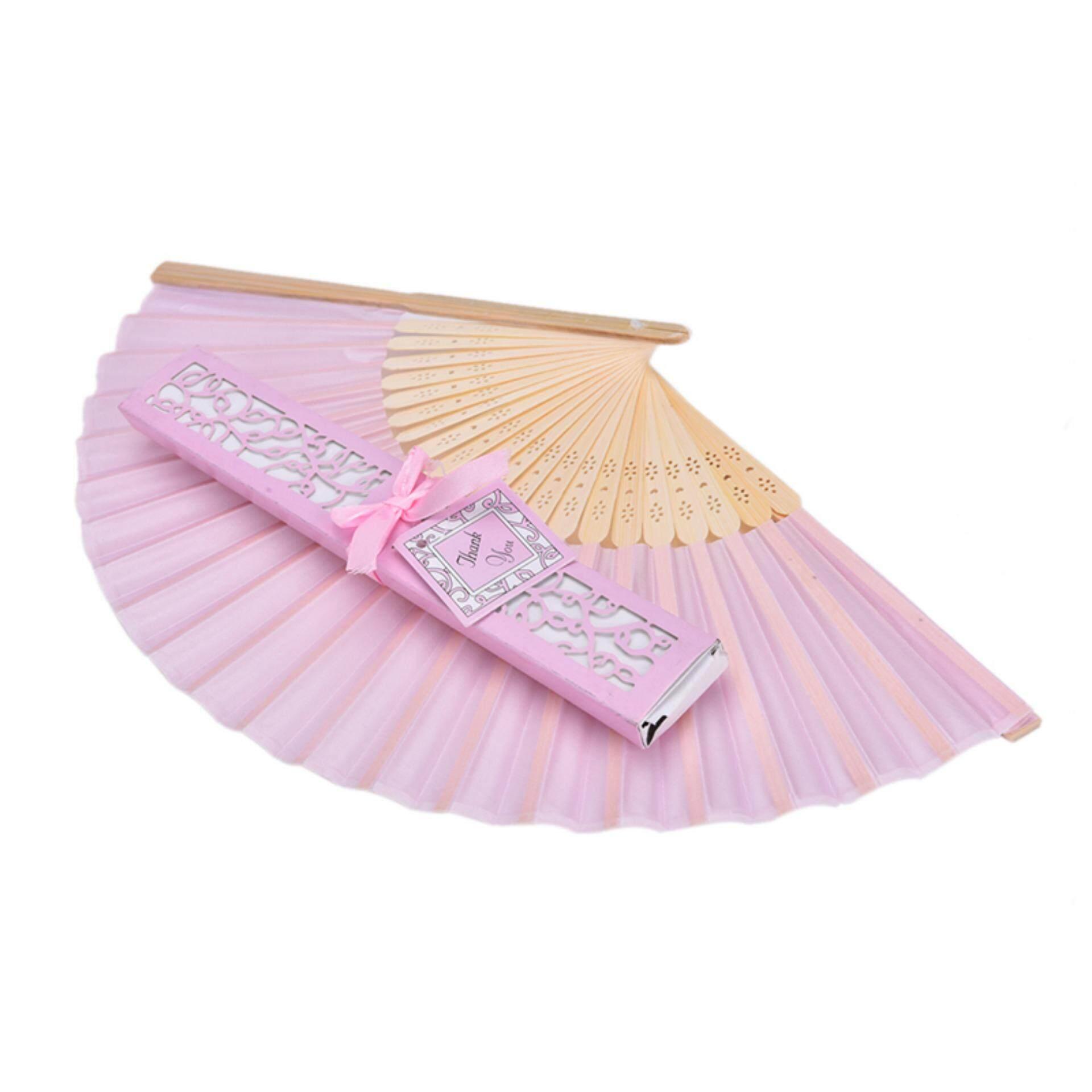 pink standing fan