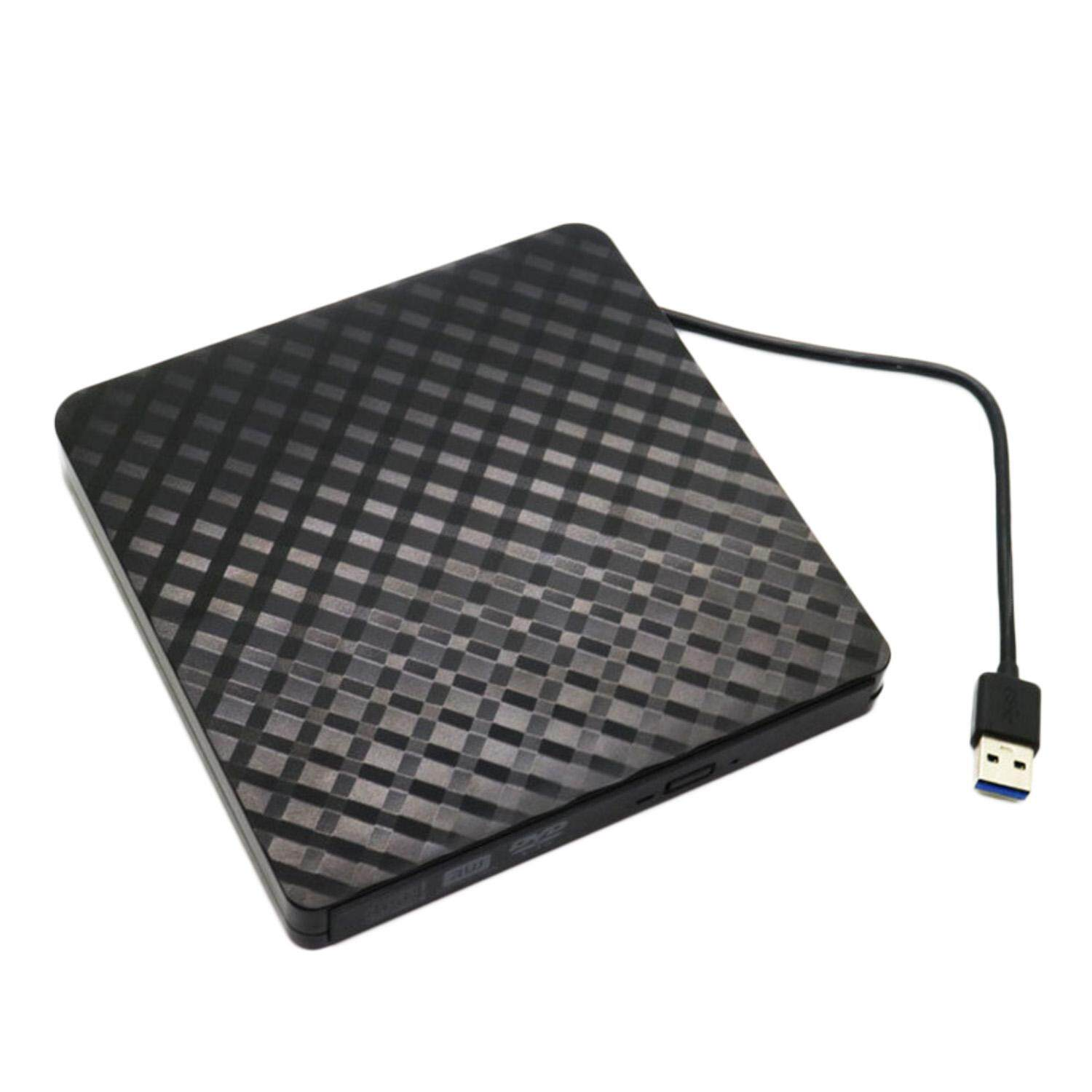 3D Imitate Diamond Surface Style USB 3.0 DVD ROM Player CD-RW External DVD Optical Drive Writer Recorder for Laptop Computer PC